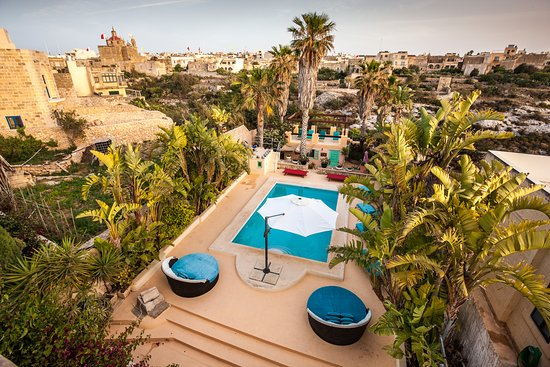 Munxar, Malta: Pools and views at Thirty Seven Gozo