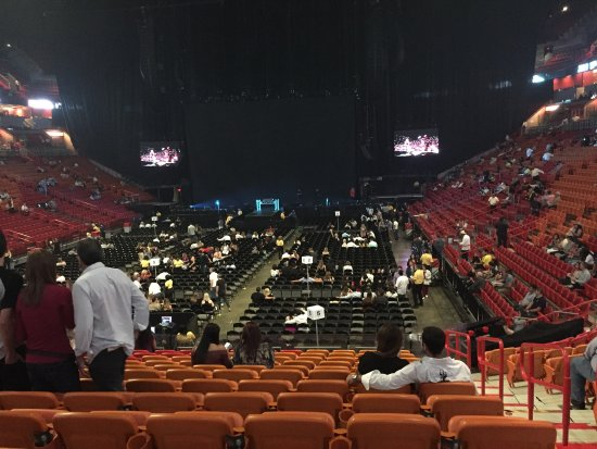 Foto De American Airlines Arena Miami A View From The