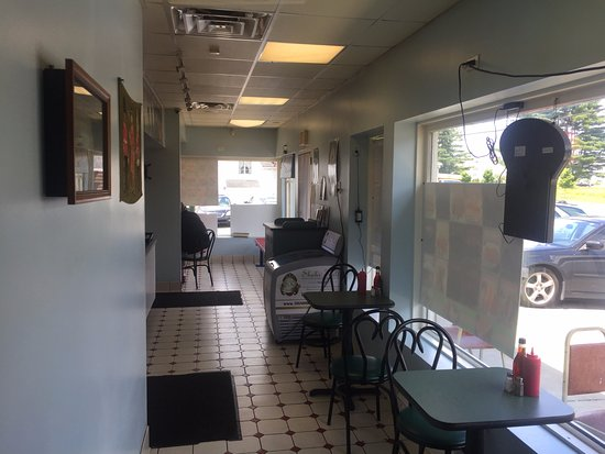 Order Counter Area Seating - Royal Fish 'N Chips Mediterranean Grill, Bethel CT