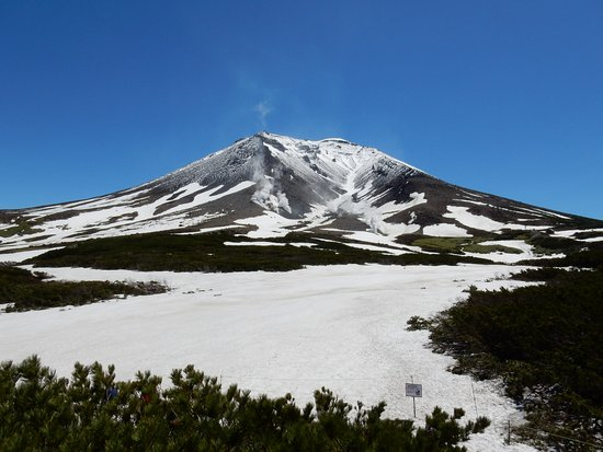 Mt. Asahidake : ロープウェー山頂駅より
