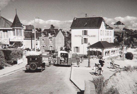 """hotel de la plage 1934 les extérieurs du film """"les vacances de"""