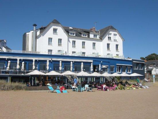 Best Western Hotel De La Plage: Vu depuis la plage
