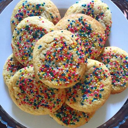 Canela Antigua: Sprinkle cookies!