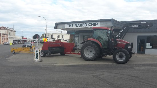 Waimate, New Zealand: Customers  mode of transport collecting their Order.