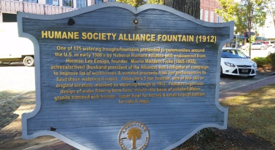 Humane Society Alliance Fountain, Abbeville, SC, Nov 2016