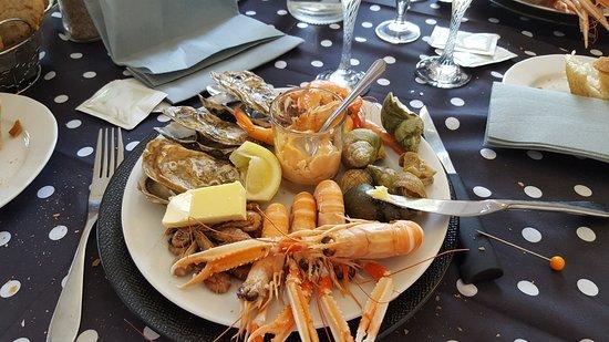 Saint-Romain, Francia: Lots of fish