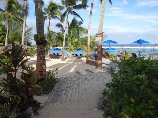 Manuia Beach Resort : Near the beach