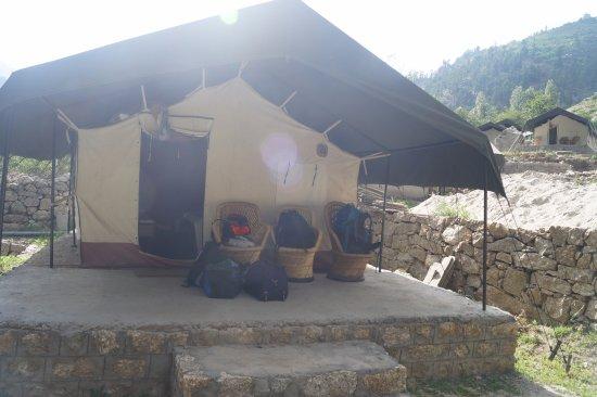 Kinner Camp Sangla: Camp