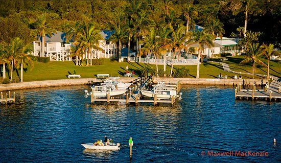 Pineland, FL: Docks & waterfront