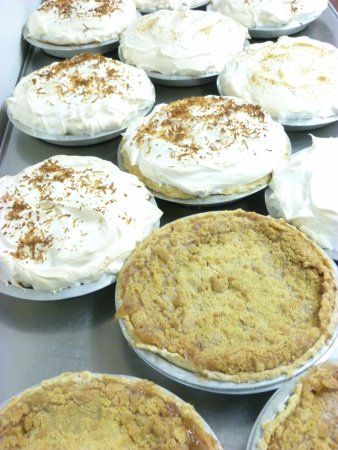 Clymer, NY: Homemade Fruit and Cream pies baked everyday!