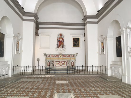 Castel Sant'Elmo: Church at Sant'Elmo