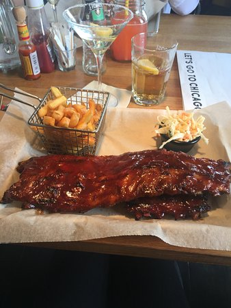 Chicago Bar & Grill : BBQ Baby Back Ribs
