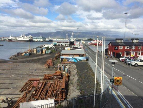 Icelandair Hotel Reykjavik Marina: View from room 201.