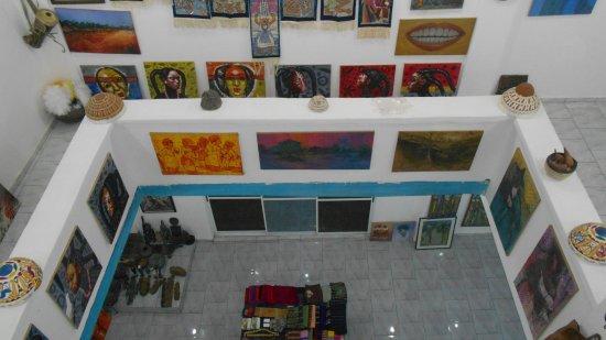 Lokoja, Νιγηρία: An impressive array of traditional African arts