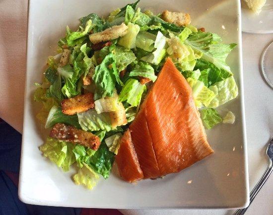 Smoked Idaho Trout Caesar Salad