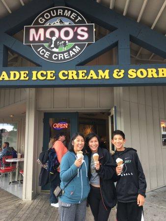 Moo's Gourmet Ice Cream: photo0.jpg