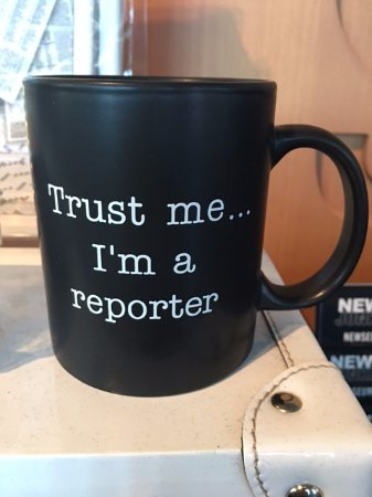 Newseum: My favorite mug -- ever!