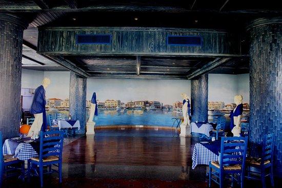 SENTIDO Palm Royale: Greek a la carte restaurant Taverna Barba Kiriako's
