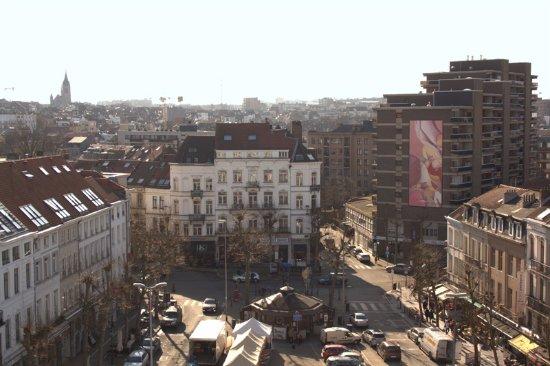 Tableau de 16 mètres de haut de Guillaume Bottazzi