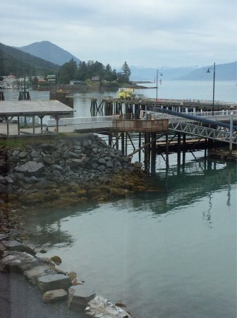 Wrangell, AK: The view from our waterfront hotel room says it all about the unmatched beauty of Southeast Alas