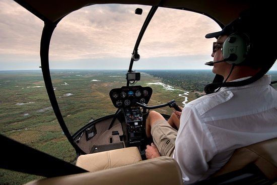 Linyanti Bush Camp: Complimentary Helicopter ride