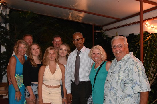 Brandywine Estate Restaurant: The Premier stopped by... Friendly starts at the top in the BVI!