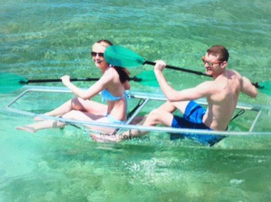 Cayman Clear Canoes: Clear Canoe Cayman