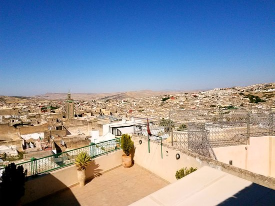 Dar El Ouedghiri: View from the terrace