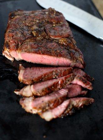 Stratford, WI: Ribeye Steak...how can you go wrong!!
