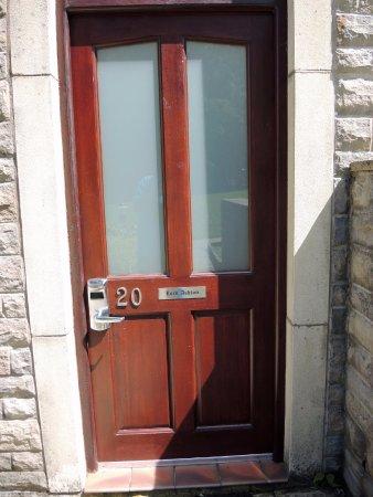 Front door to my 1-bedroom apartment - Picture of Thurnham ...