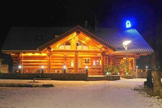 Das Blockhaus das blockhaus im winter picture of das blockhaus homburg