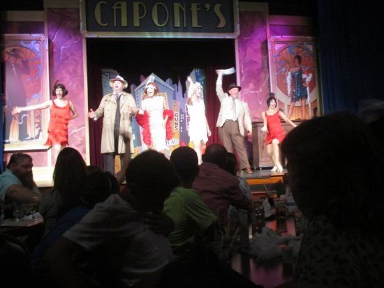Capone's Dinner and Show: Some of the cast