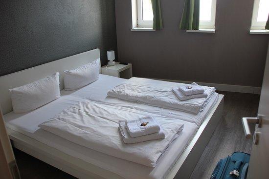 Apartmenthouse Berlin: La 2ème chambre complèment indépendante