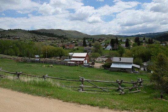View of Virginia City, Montana