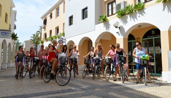 Hen Do Picture Of Bike A Wish Bike Rental Tours Vilamoura