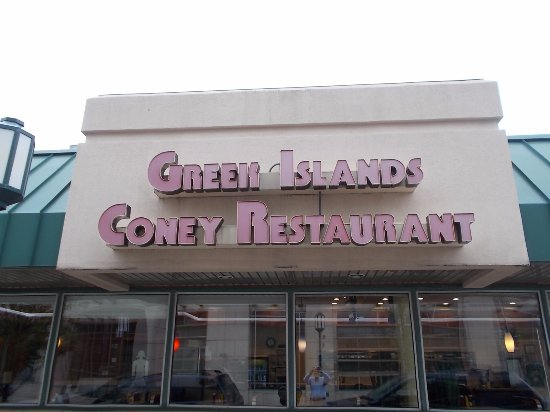 Greek Islands Coney Birmingham Menu