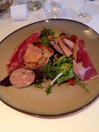 Bozouls, Frankrig: Salade landaise
