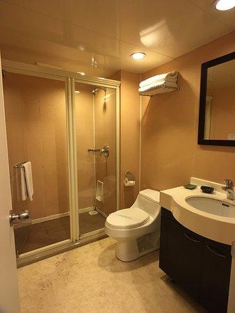젠 가든 호텔 - 우이 야드: 따뜻한 물이 잘 나옵니다.