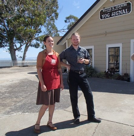 Point Richmond, CA: Delightful Lightkeepers Che and Jillian