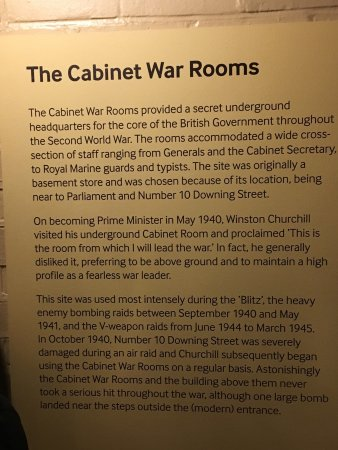 Photo of Historic Site Churchill War Rooms (Churchill Museum & Cabinet War Rooms) at King Charles St., London SW1A 2AQ, United Kingdom
