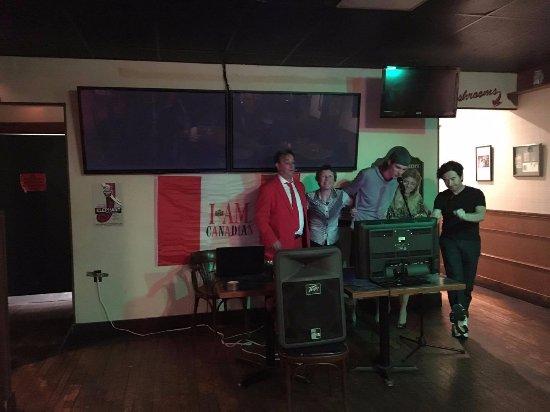 Tillsonburg, Canada: Karaoke with Dean Vincent hosting on June 24, 2017.