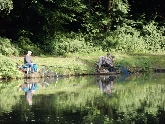 Fishermen  - Picture of Moss Valley Country Park, Wrexham