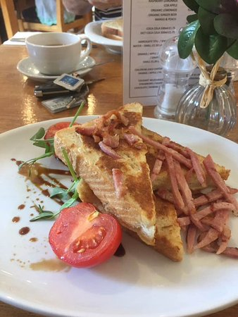 Chapter One Kitchen Bar Eggy Bread Served With Crispy Bacon