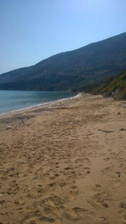 The beach at Zola