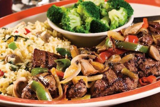 99 Restaurants: Smothered Sirloin Tips