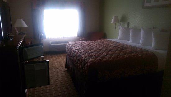 Days Inn & Suites Benton Harbor MI: King Bed