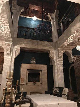 Riad Les Yeux Bleus: 2nd Riad, cozy feeling