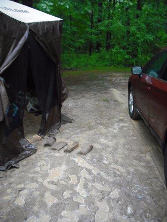 Wheatley, Kanada: Last day it rained a LOT.
