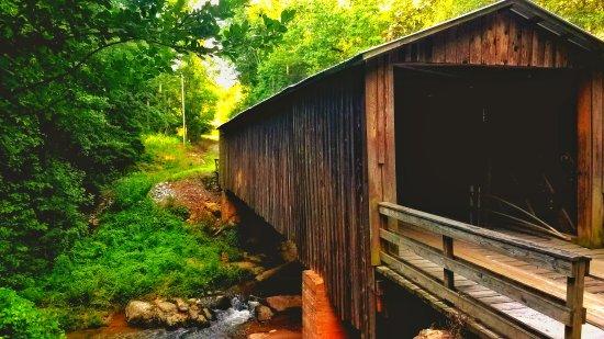 Watkinsville, Geórgia: Elder Mill Covered Bridge
