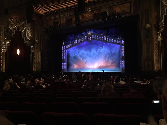 """Pantages Theatre: Beautiful stage pre-show for """"The Book of Mormon"""""""